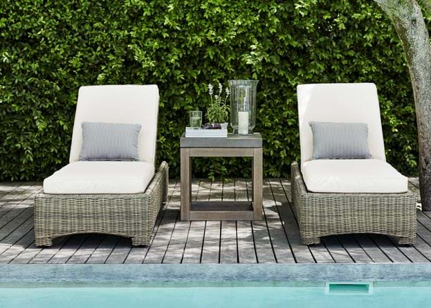 Compton Sunlounger with Hove Side Table