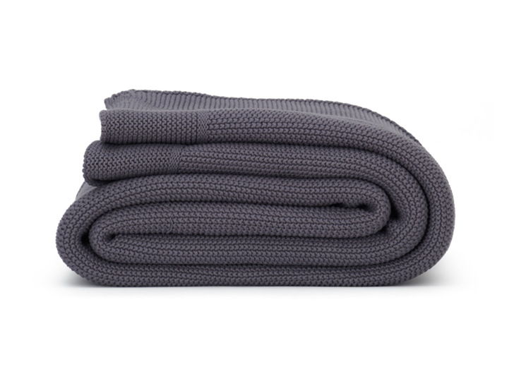 Kingswood Throw Mole Grey_Side