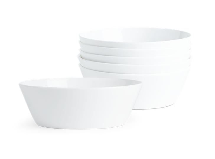 Fenton Bowl Set of 6 White_Stack