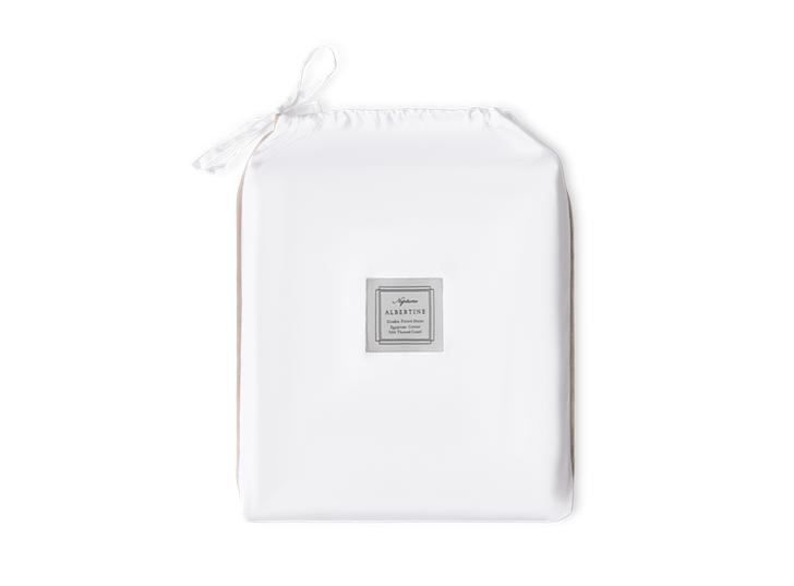 Albertine Flat Sheet Grey Oak Single_Front
