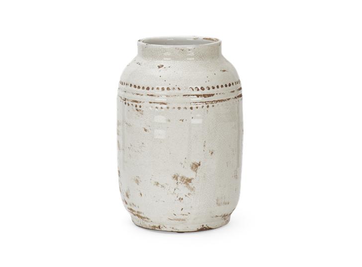 Haybrook Medium Vase Snwo_Front