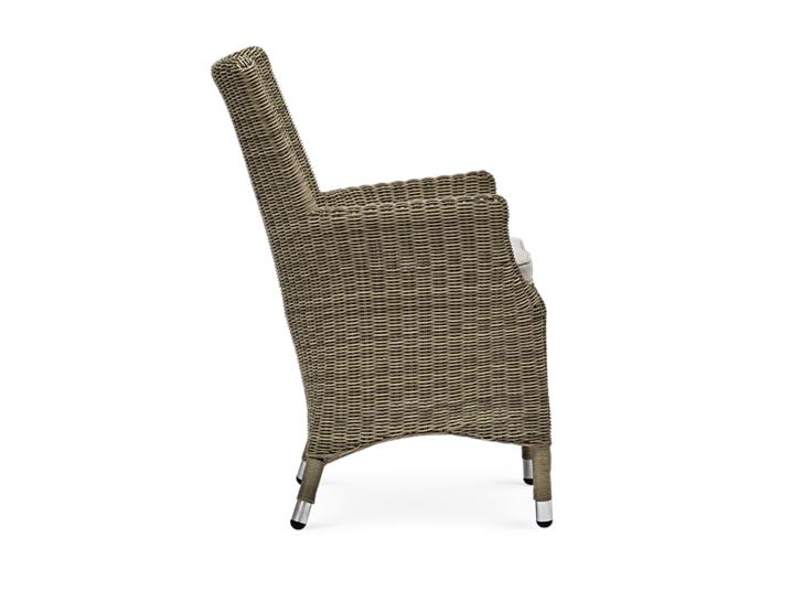 Cayton Armchair with Oatmeal Cushion_Garden