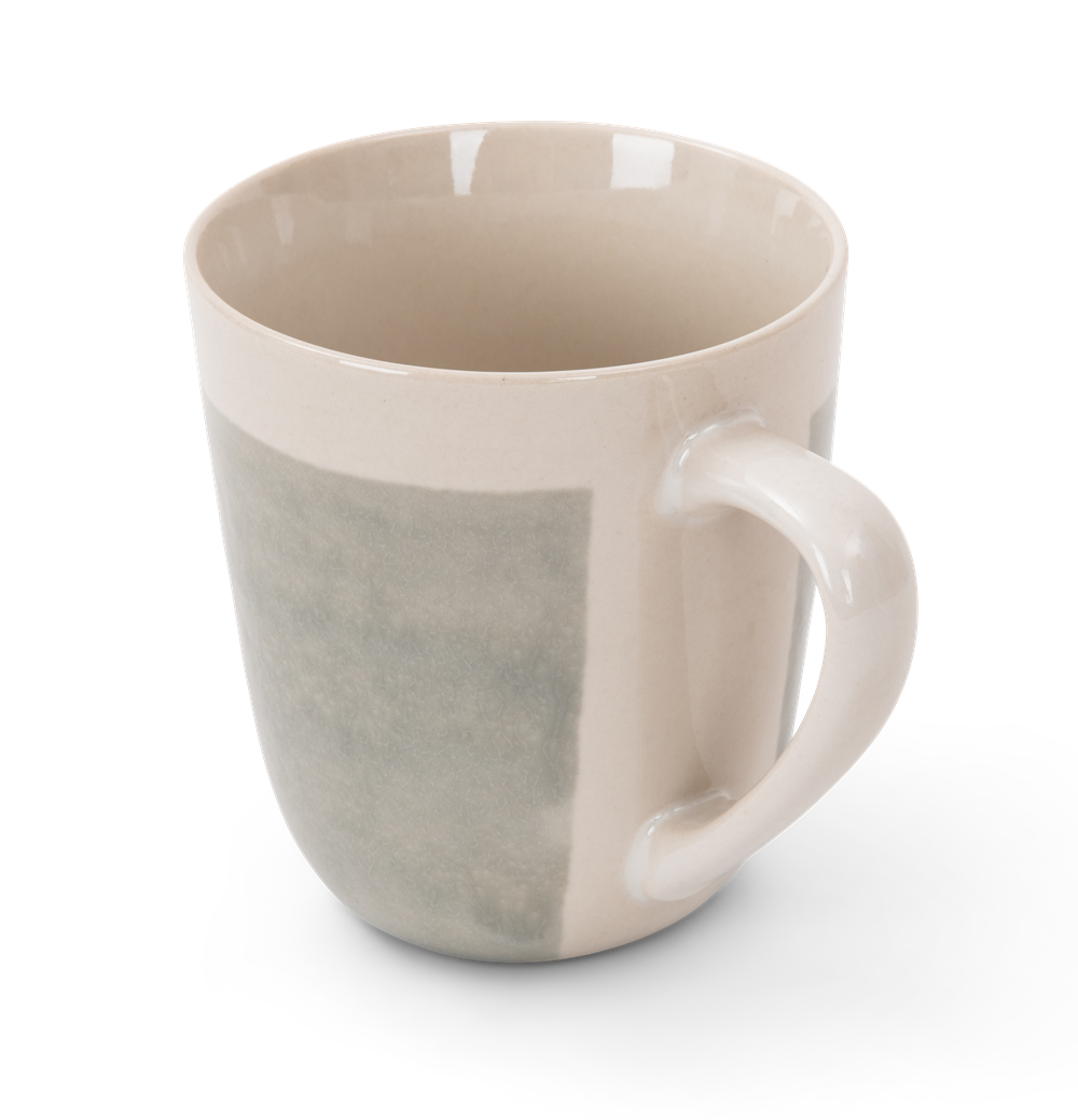 Lulworth mug 370ml, off white, rim copy
