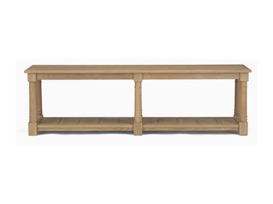 Edinburgh 160cm Bootroom Bench_Vintage Oak_Front