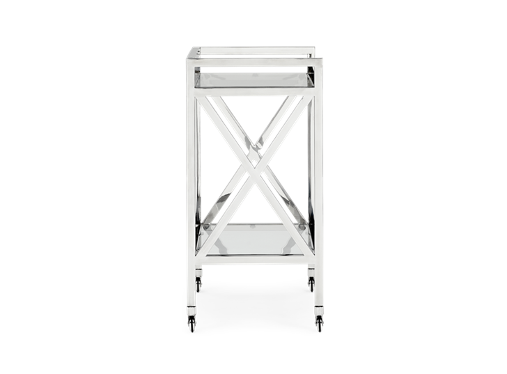 Manhattan drinks trolley side