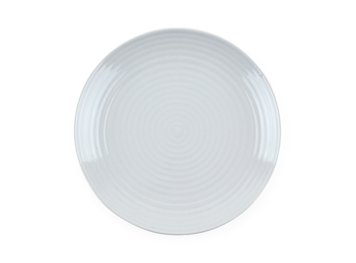 Lewes Side Plate Grey_Top