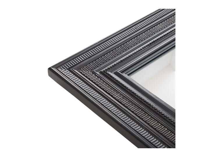 Kintbury 68 Rectangular Mirror Black_Frame Detail PR