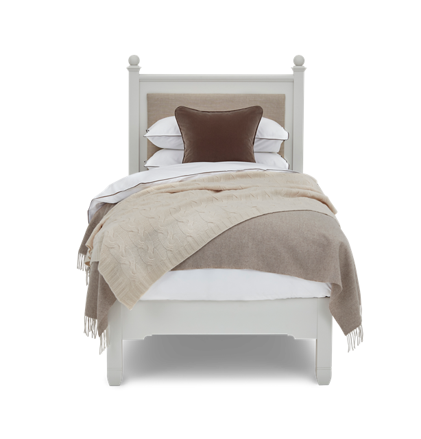 Chichester Single Shell Upholstered Headboard Styled Front