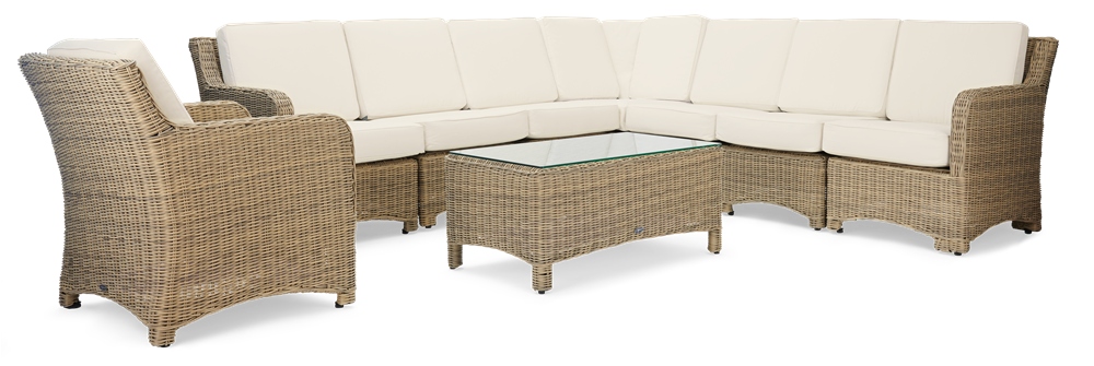 Compton Modular 8 Seater Corner Set with Coffee Table
