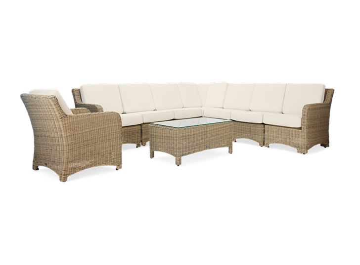 Compton Modular 8 Seater Corner Set with Coffee Table