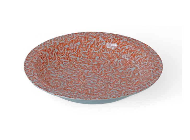 Olney decorative bowl, low bowl_3quarter