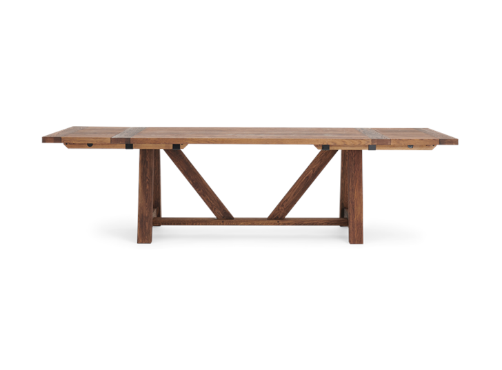Arundel_Extending Table_Dark Oak_Front_Extended
