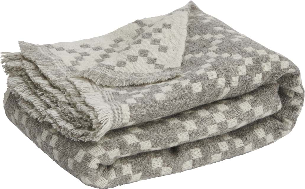 Eira Winter Throw_Grey