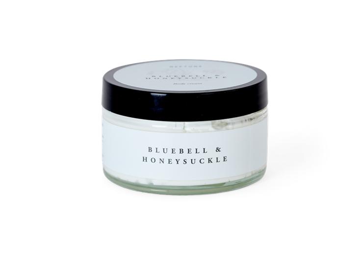 Bluebell & honeysuckle body cream_top