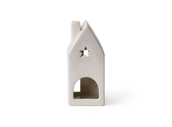 Castleton house tealight holder tall - reverse