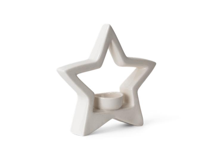Aster star tea light holder - 3quarter