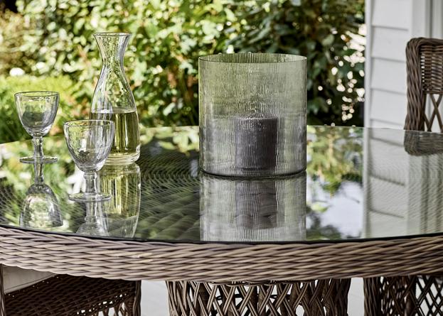 Harrington Round 6-seater Table Set_Garden Furniture_Weave