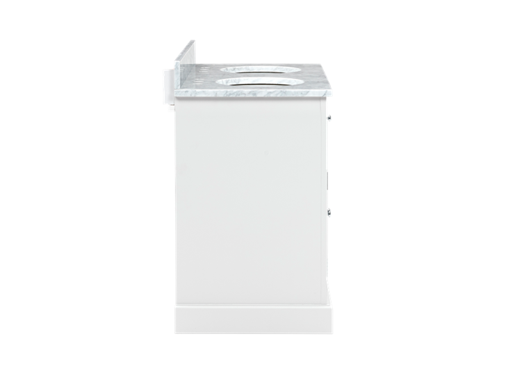 Chichester 1240 Undermount D-Door Washstand Only-Shell-Shell Side
