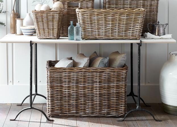 Somerton medium log basket