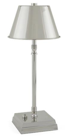 Hanover Cordless Lamp Small Nickel_3QuarterB