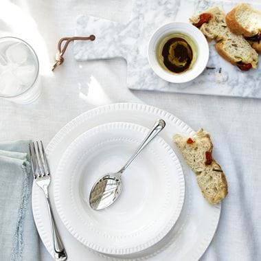 Croxton lunch setting - balsamic