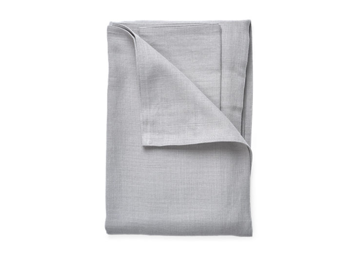 Ardel Linen Bedspread Large Fog_Top Folded