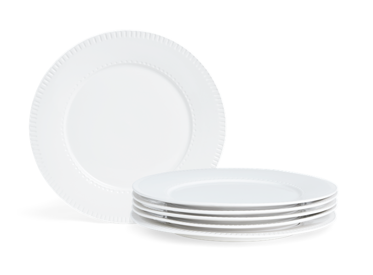 Croxton Dinner Plate Set of 6_Stack