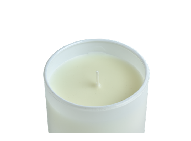 Bronte Verveine Scented Candles, White, Set of 2 D