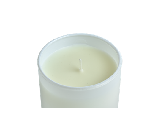 Bronte Verveine Scented Candles, White, Set of 2 D