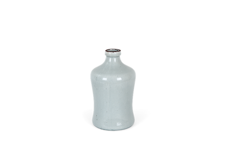 Astbury vase medium flax blue_front