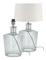 Castleford Medium Lamp, Glass