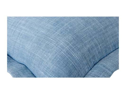 Beatrix 35x55cm, Harry flax blue_detail