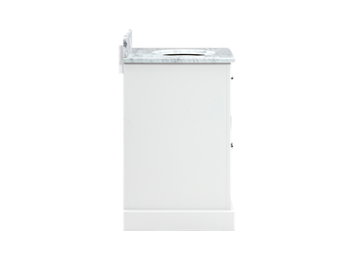 Chichester 640 Undermount Washstand Only-Shell-Shell Side