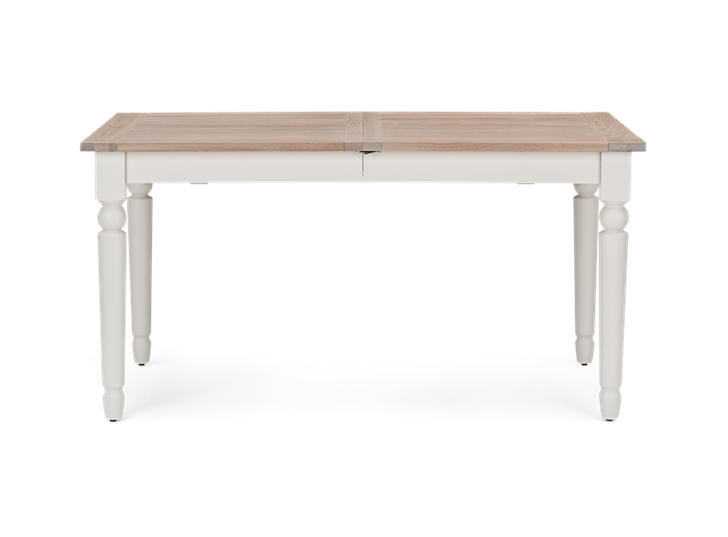 Suffolk 150-230 Extending Table_Silver Birch_Front