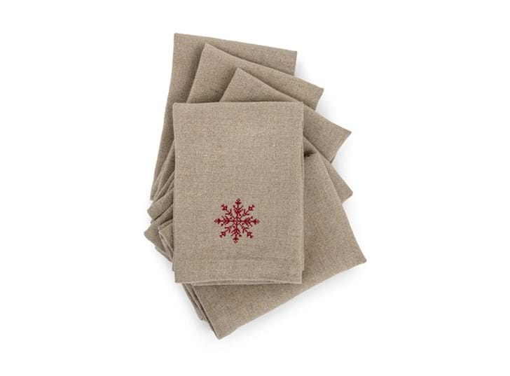 Elden snowflake napkins - set