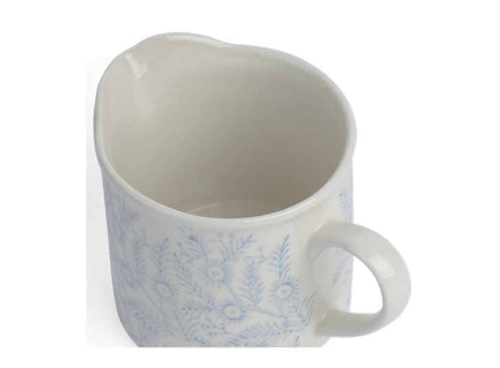 Olney Milk Jug - Flax Blue 3