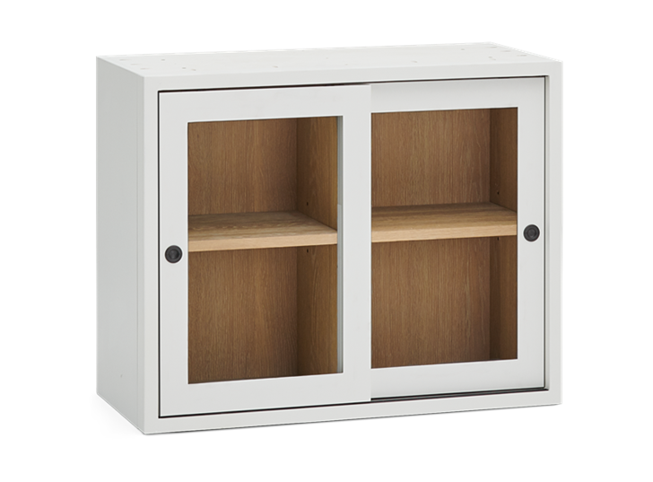 Chawton 71.5 Top Cabinet - Glazed - Snow