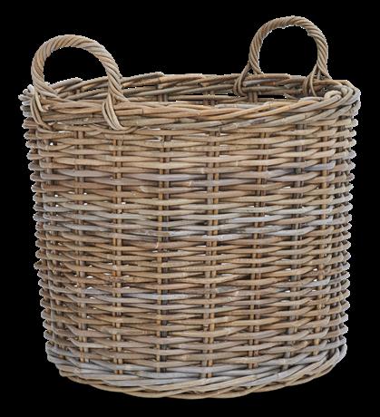 Somerton medium round Log Basket