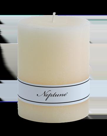Blyton Calico 7x9 Pillar Candle