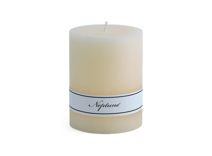 Blyton Calico 7x9 Pillar Candle
