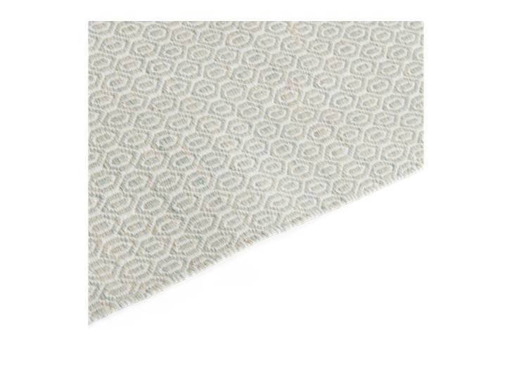 Alderbury 200x300cm Rug Soft Teal_Edge