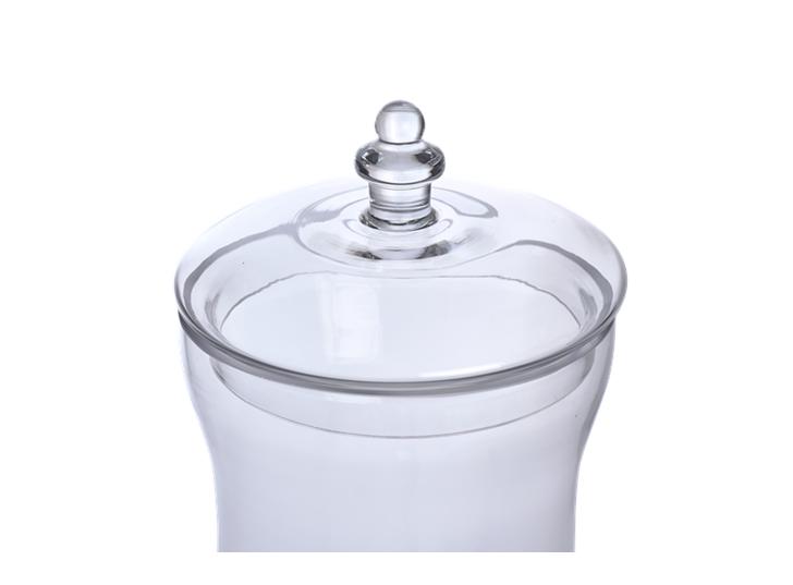 Belmont Glass Jar, Large 3