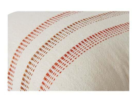 Elland 45x45cm, Burnt sienna stripe_detail