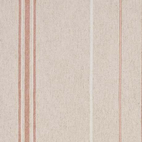 Samuel Woven Linen Stripe Rust