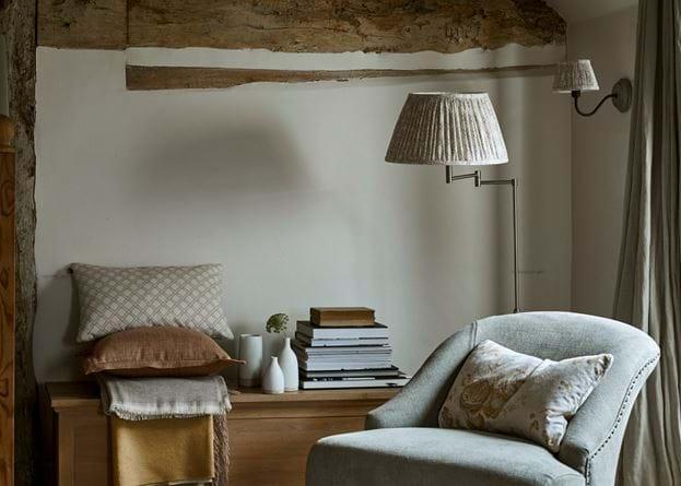 Audrey Bedroom Chair Reading Corner