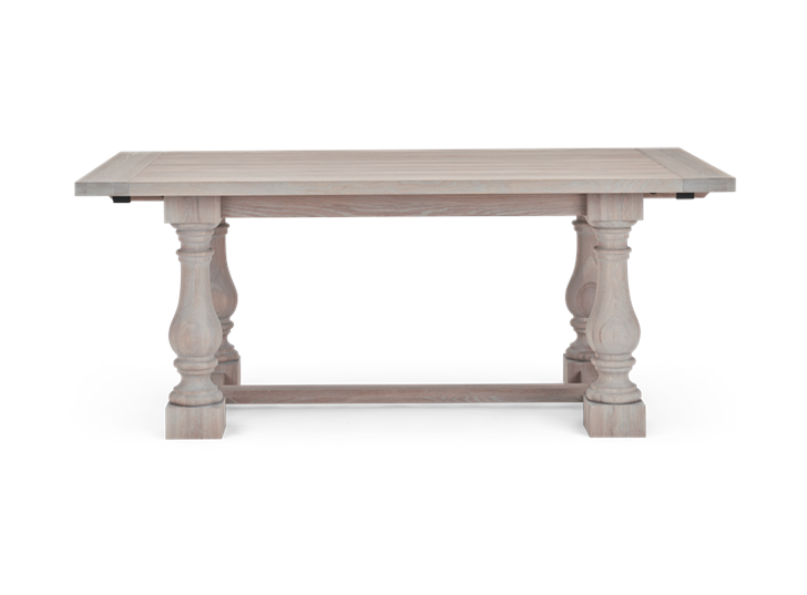 Balmoral 185-275 Extending Table_Seasoned Oak_Front