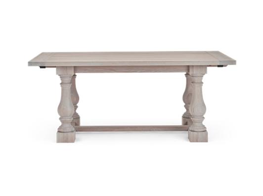 Balmoral 185-275 Extending Table_Seasoned Oak_Front