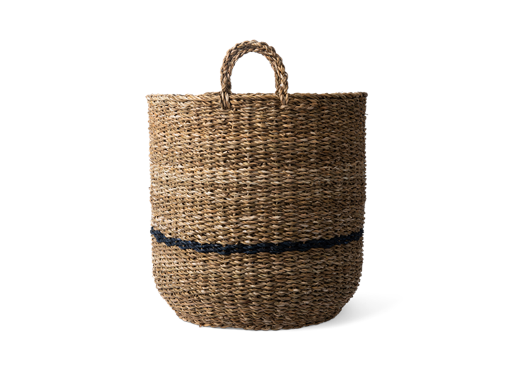 Redford log basket, large, side