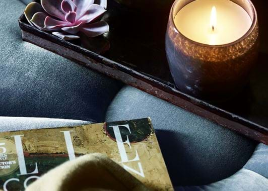 Christie verveine scented candle