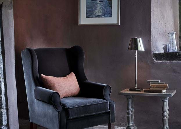 Grace scatter cushion on Dominic armchair